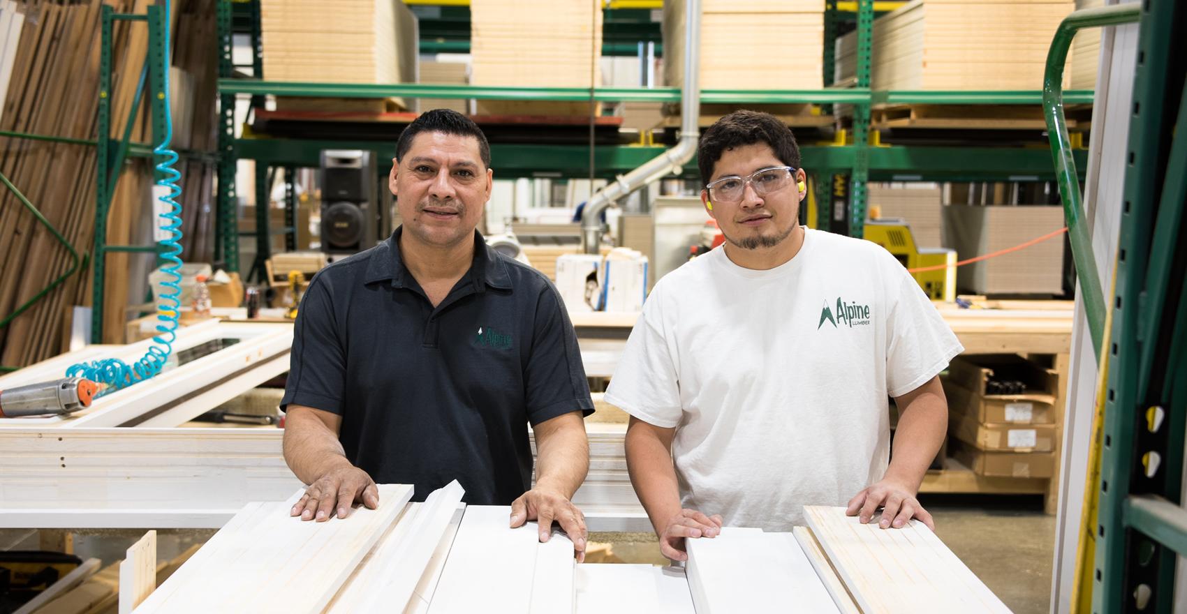 Alpine Lumber Millwork Staff