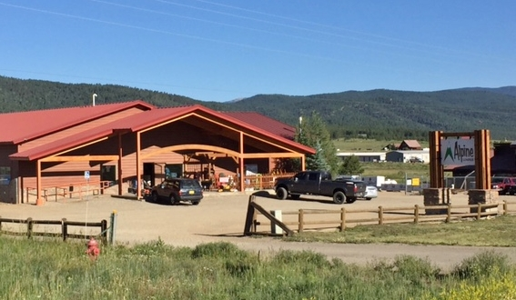 Alpine Lumber Builder Oriented & Residential Lumber Solutions Angel Fire storefront - Alpine Lumber Angel Fire