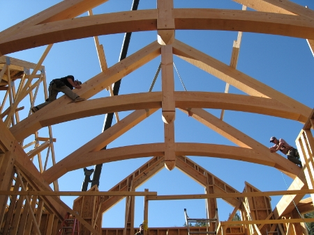 Builder oriented lumber solutions alpine truss montrose for Pre manufactured trusses