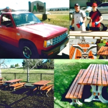 Alpine Lumber Builder Oriented & Residential Lumber Solutions Eagle Scout benches 2 215x215 - Community Involvement